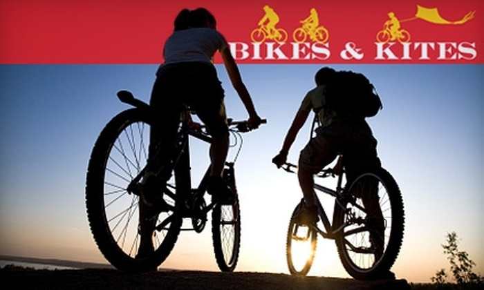 Bikes & Kites - Multiple Locations: $19 for Two Three-Hour Bike Rentals from Bikes & Kites