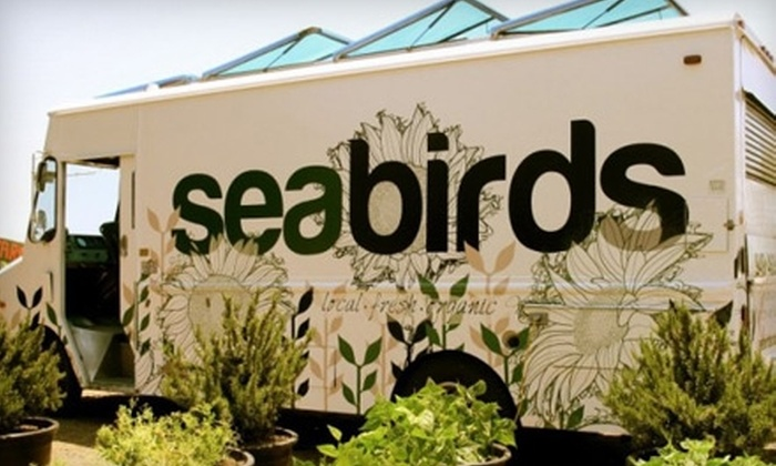 Seabirds - Turtle Rock: $5 for $10 Worth of Organic Eats from Seabirds