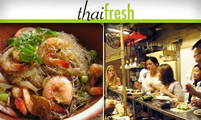 Thai Fresh - Bouldin: $30 for a Thai Cooking Class at Thai Fresh ($55 Value)