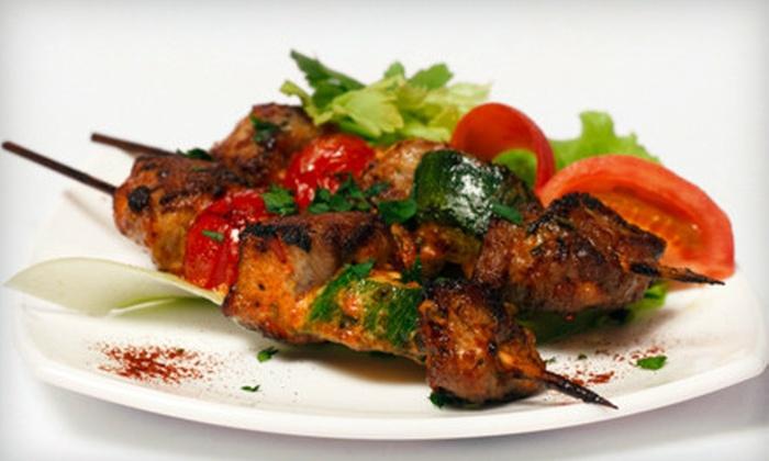 Aladdin's Cafe - Concordia: Middle Eastern Dinner for Four or $15 for $30 of Middle Eastern Cuisine at Aladdin's Café