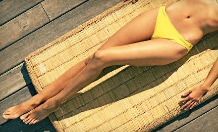 Full-Leg or Brazilian Bikini Sugar Wax (a $45 value) - Praba Salon in Manhattan