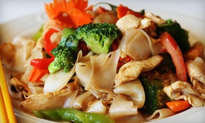 Thai Garden Restaurant - Multiple Locations: $10 for $20 Worth of Thai Cuisine at Thai Garden Restaurant