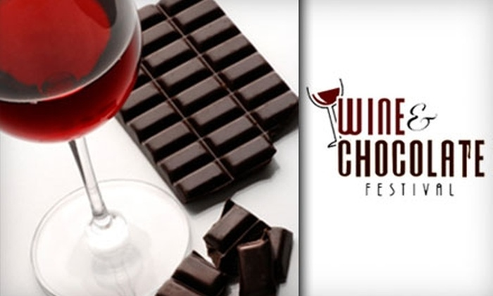 CNY Wine and Chocolate Festival - Geddes: $15 for One Ticket to the CNY Wine and Chocolate Festival (Up to $25 Value)
