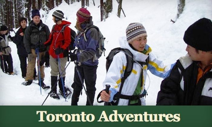 Toronto Adventures - Swansea: $25 for Intro to Snowshoeing & Guided High Park Adventure with Toronto Adventures ($50 Value)
