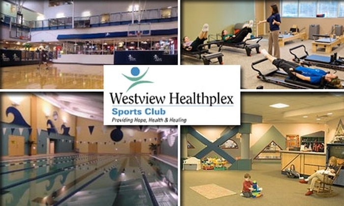 Westview Healthplex Sports Club - Ethel Acres: $45 for One-Month Unlimited Membership at Westview Healthplex Sports Club
