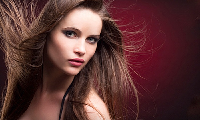 Magic Touch Salon and Day Spa - Saint Clair Shores: Haircut and Style Package with Optional Full Highlights at Magic Touch Salon and Day Spa in St. Clair Shores (Up to 61% Off)