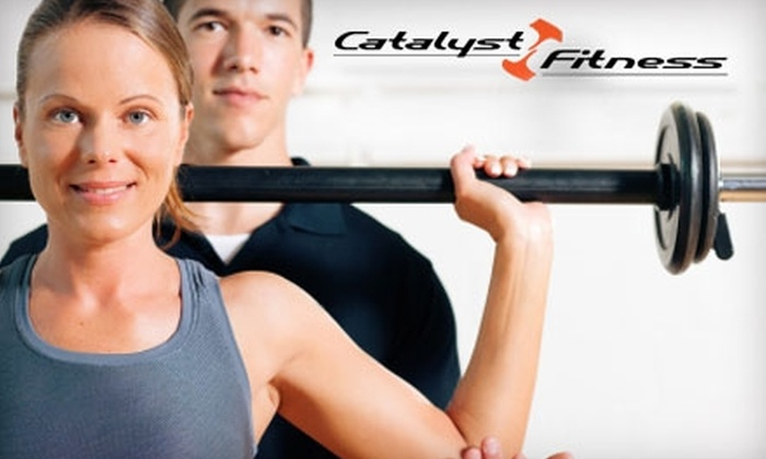 Catalyst Fitness - Aboite: $15 for Three Boot-Camp Classes at Catalyst Fitness ($45 Value)