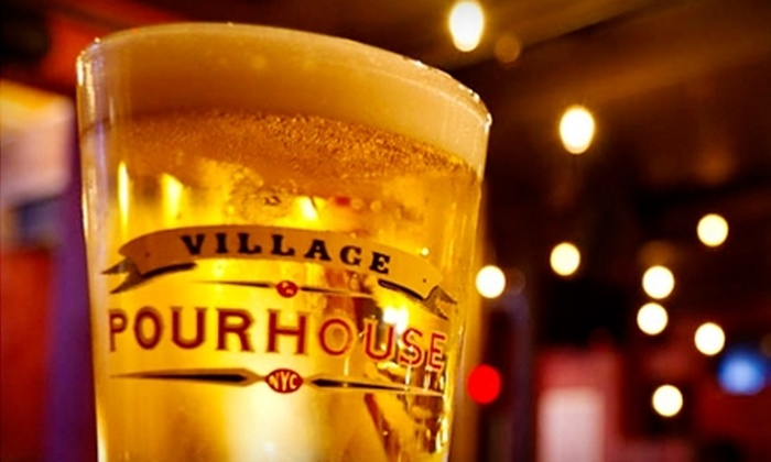Village Pourhouse - Hoboken: $22 Drink Around the World Beer Flight for Two or a Summer Cocktail Sampler for Two at Village Pourhouse in Hoboken ($40 Value)