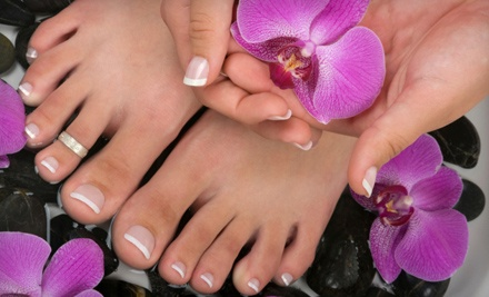 1 Manicure and Pedicure (a $55 value) - NewStyle Salons in Green Bay