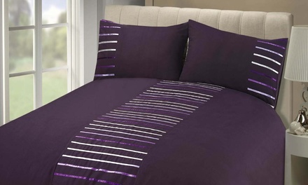 Rapport Home Manhattan Duvet Cover Set in Choice of Colour