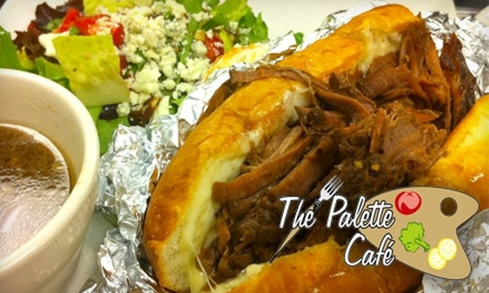 Palette Café - Parkhill: $10 for $20 Worth of Globally Inspired American Cuisine at Palette Café