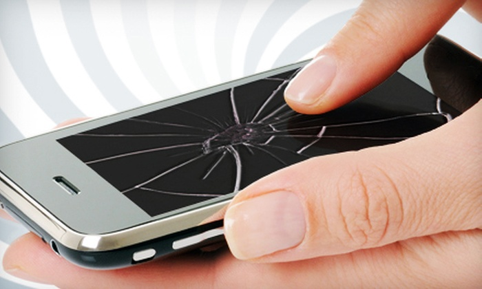 Cellular Repair & Exchange - Expo Square: Smartphone-Screen Repairs at Cellular Repair & Exchange (Up to 68% off). Seven Options Available.