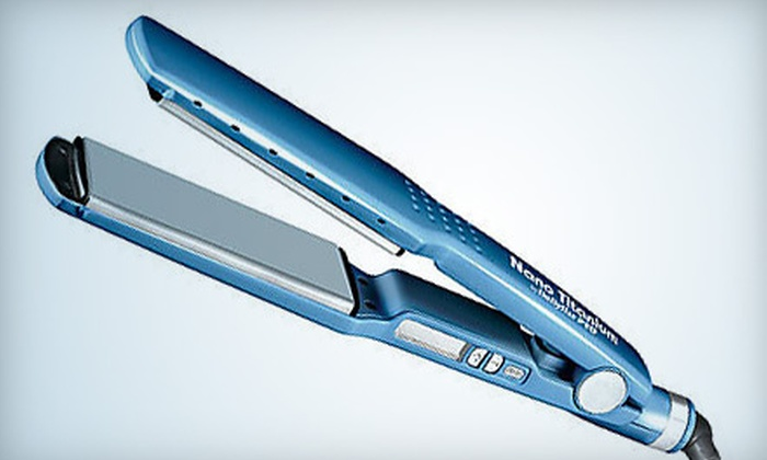 Wholesale Beauty Supply Direct: $89 for a 1.75-Inch BaByliss Pro Nano Titanium Flatiron from Wholesale Beauty Supply Direct ($219 Value)