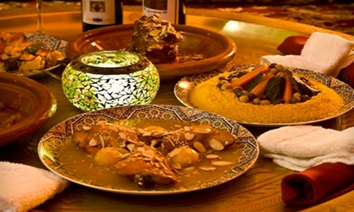 Kasbah Moroccan Restaurant - Whittier Heights: $20 for $42 Worth of Moroccan Cuisine and Drinks at Kasbah Moroccan Restaurant