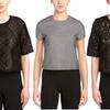 Women's Short Sleeve Lace Tops