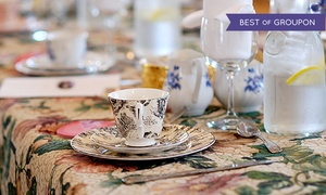 Cedarhurst Mansion: 9-Course Afternoon High Tea for Two or Four at Cedarhurst Mansion (33% Off)