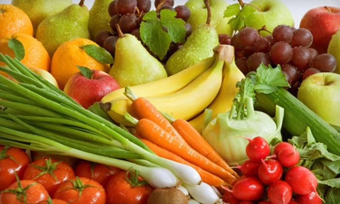 Green Buffalo Food Company - Fort Collins: Organic Mini Produce Box or Front Range Produce Box from Green Buffalo Food Company (Up to 53% Off)