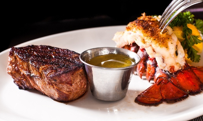 Star Steak and Lobster - French Quarter: $20 for $40 Worth of Steak, Seafood, Drinks, and Live Music at Star Steak and Lobster