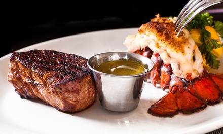 $20 for $40 Worth of Steak, Seafood, Drinks, and Live Music at Star Steak and Lobster