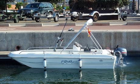 2 o 4 horas de alquiler de lancha con opción a kit de pesca a elegir desde 49 € en Spirit