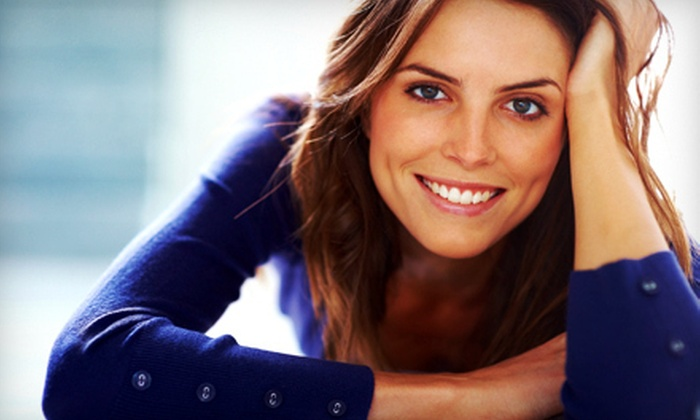 TréusDell Salon & Spa - Multiple Locations: $79 for a 40-Minute Beaming White Teeth-Whitening Treatment at TréusDell Salon & Spa ($200 Value)