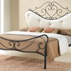 Alanna Shabby Chic Wrought Iron Bed