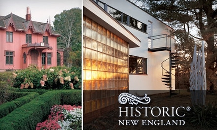 Historic New England - Boston: $45 for a One-Year Contributing Membership to Historic New England ($100 Value)