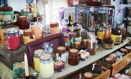 $20 Groupon to Tammys Soap Shack & SoyGlo Candle Company - Tammys Soap Shack & SoyGlo Candle Company in Weeping Water