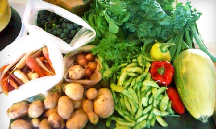 Greensboro Downtown Farm Market - Downtown: $12 for $24 Worth of Organic and Local Produce at Greensboro Downtown Farm Market