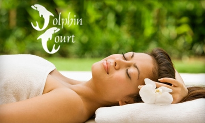 Dolphin Court Salon & Day Spa - Summerlin: $40 for 55-Minute Swedish Massage ($80 Value) or $38 for European Facial ($76 Value) at Dolphin Court Salon & Day Spa