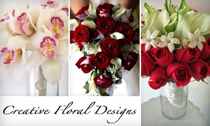 Creative Floral Design - Multiple Locations: $40 for $80 Worth of Customized Floral Arrangements from Creative Floral Designs