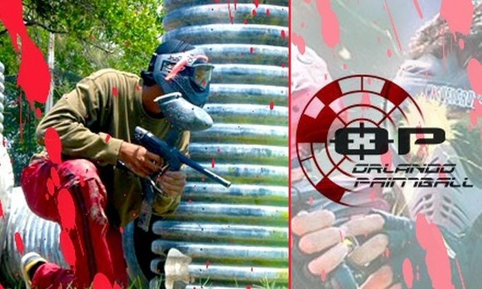 Orlando Paintball - Lockhart: $20 for a Full-Day Admission, Equipment, and Pizza Slice at Orlando Paintball ($50 Value)