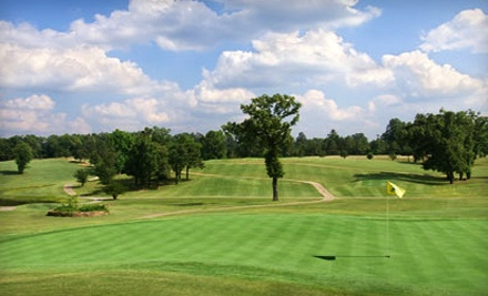 Golf Outing for Two: 18 Holes of Golf with Cart ($43) and 2 Sets of Range Balls ($16; a $59 total value) - Glenwood Country Club in Glenwood
