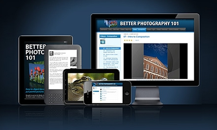 BetterPhoto.com: $39 for a Better Photography 101 Online Course from BetterPhoto.com ($97 Value)
