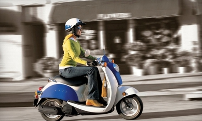 Cycle BC Rentals & Tours - Downtown: Scooter, Motorcycle, or Bike Rental at Cycle BC Rentals & Tours. Two Options Available.
