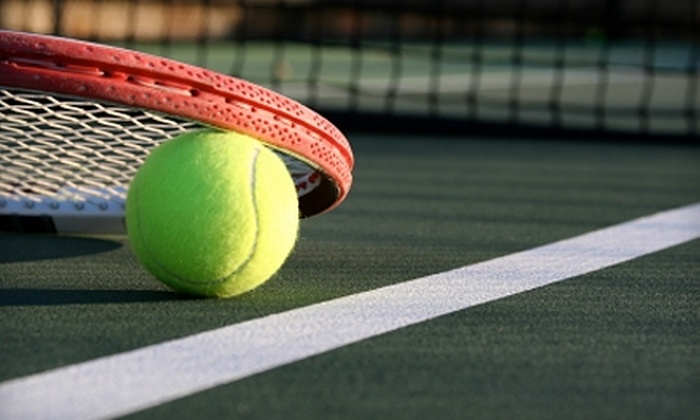 Dayton Center Courts and Tennis Academy - Trotwood: $39 for Four, Beginner-Group, Adult Tennis Lessons at Dayton Center Courts and Tennis Academy