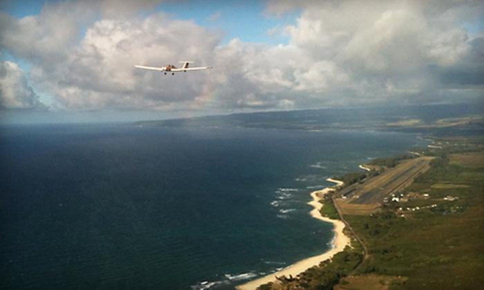 Acroflight International - North Shore: $110 for a Motorglider Flight over Waimea Falls from Acroflight International ($220 Value)