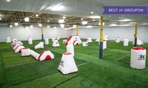 CPX Sports: Low-Impact Open-Play Indoor Paintball Package for Two, Four, or Eight at CPX Sports (Up to 73% Off)