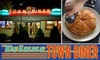Deluxe Town Diner - West Cambridge: Classic Diner Eats at Deluxe Town Diner. Choose from Two Dining Options.
