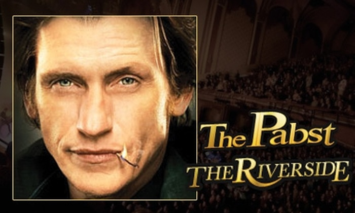 """""""Rescue Me Comedy Tour 2"""" - Juneau Town: Two Tickets to See Denis Leary's """"Rescue Me Comedy Tour 2"""" at the Riverside Theater on June 17 at 8 p.m. Choose from Two Seating Options."""