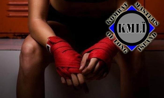 Kombat Masters of Long Island - Syosset: $35 for Two Weeks of Unlimited Krav Maga Training at Kombat Masters of Long Island ($95 Value)