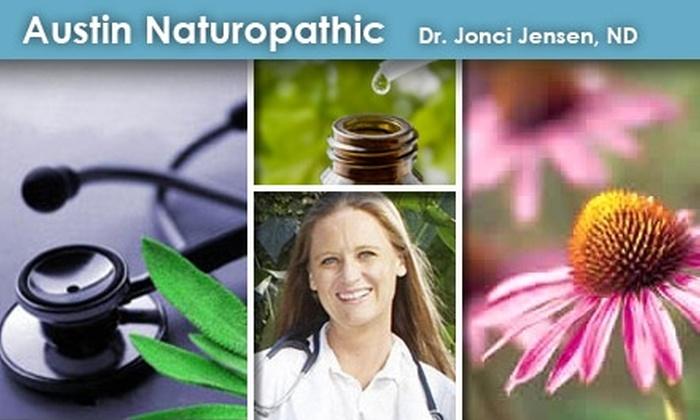 Austin Naturopathic - Zilker: $99 Health Consultation at Austin Naturopathic Medicine