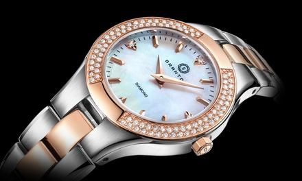 Granton Damen Armbanduhr mit Diamanten in der Farbe nach Wahl inkl. Versand