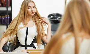 Yuko System Hair-straightening Treatment With Optional Haircut At Kc Beauty Academy (up To 72% Off)