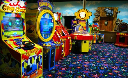 Deluxe Family Package for 4 People (a$60 value) - Kidz Quarterz in Sherwood Park
