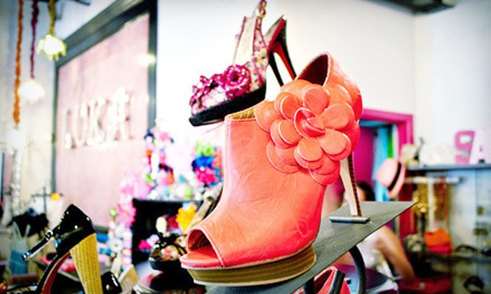 LuKa 7 - Smeltertown,Mission Hills: $25 for $50 Worth of Women's Clothing, Shoes, and Accessories at LuKa 7
