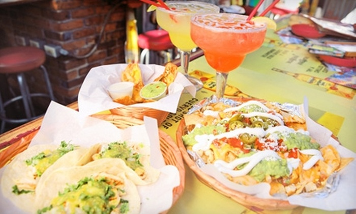 Fiesta Cantina - Hillcrest: $20 for Bar Fare for Two with Patrón Margaritas and Appetizers at Fiesta Cantina (Up to $42 Value)
