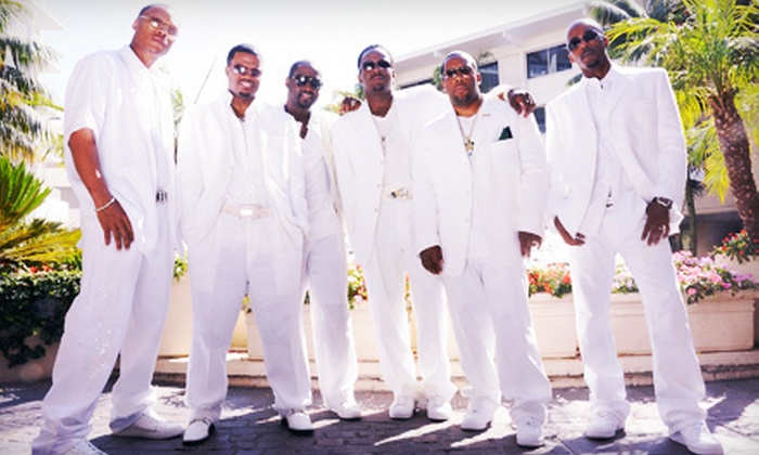 New Edition - Coliseum Drive: $28 to See New Edition at Bojangles' Coliseum on May 19 at 8 p.m. (Up to $56.95 Value)