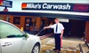 Mike's Carwash - Multiple Locations: $20 for Three The Works Car Washes at Mike's Carwash ($45 Value)