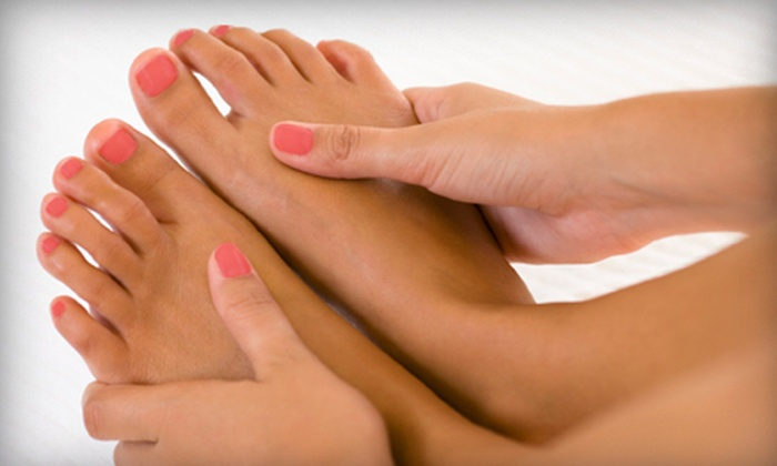 Stand Out Salon - Jefferson: Regular or Shellac Mani-Pedi at Stand Out Salon in Forest (Up to 53% Off)